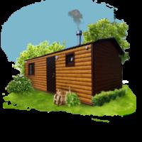 Мобильные бани и садовые домики