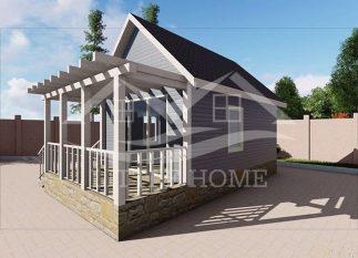 Мобильный садовый домик: комфорт на даче быстро и качественно